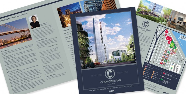 Real Estate Developers: Cosmopolitan Brochure