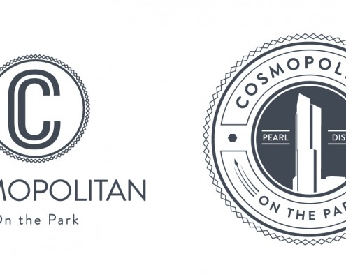 Real Estate Developers: Cosmopolitan Logo and Seal