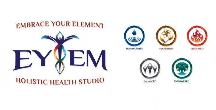 Logos: EYEM Holistic Health Studio