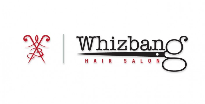 Logos: Whizbang Hair Salon